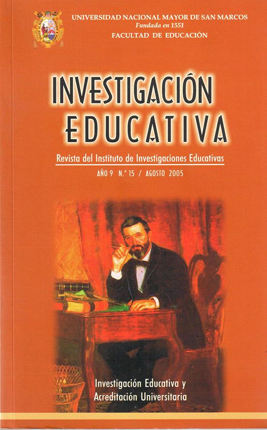 Ver Vol. 9 Núm. 15 (2005): Investigación Evaluativa y Acreditación Universitaria