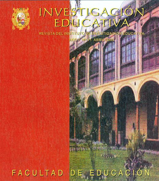 Ver Vol. 7 Núm. 11 (2003)
