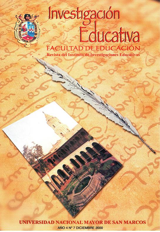 Ver Vol. 4 Núm. 7 (2000)