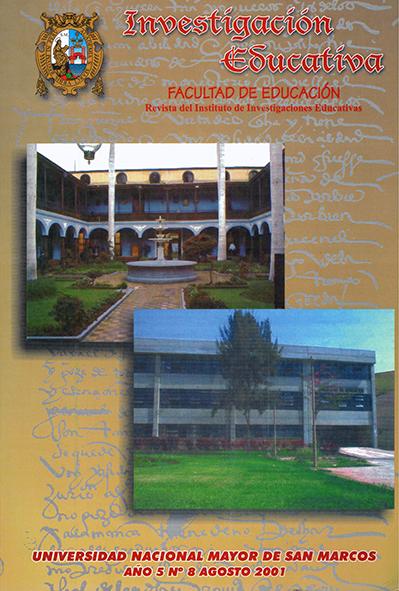 Ver Vol. 5 Núm. 8 (2001)