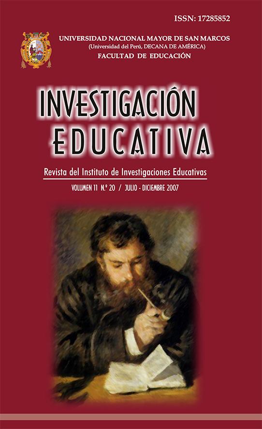 Ver Vol. 11 Núm. 20 (2007): ¿Qué se está investigando en educación?