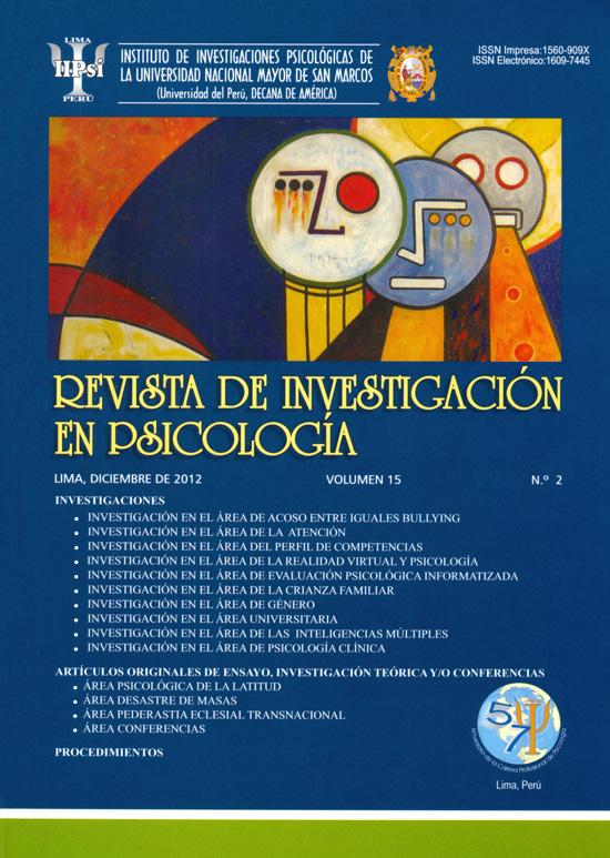 Ver Vol. 15 Núm. 2 (2012)
