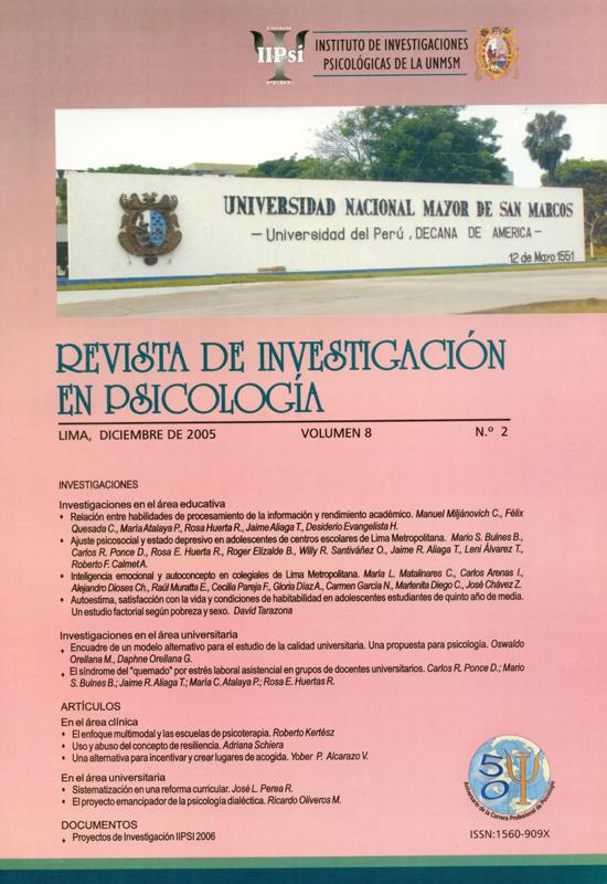Ver Vol. 8 Núm. 2 (2005)