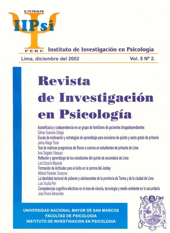 Ver Vol. 5 Núm. 2 (2002)