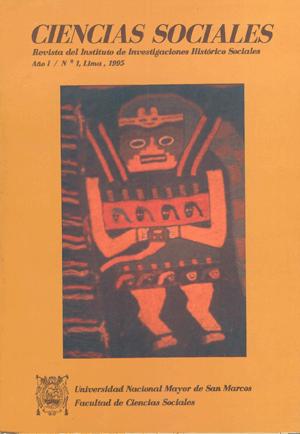 Ver Vol. 1 Núm. 1 (1995)