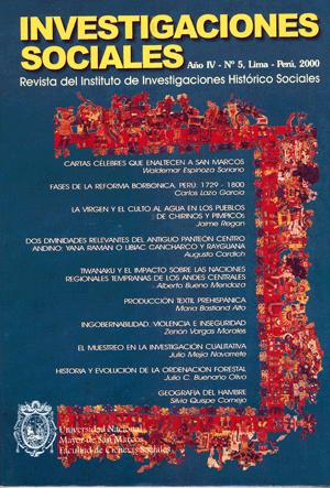 Ver Vol. 4 Núm. 5 (2000)