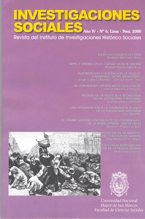 Ver Vol. 4 Núm. 6 (2000)