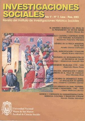 Ver Vol. 5 Núm. 7 (2001)