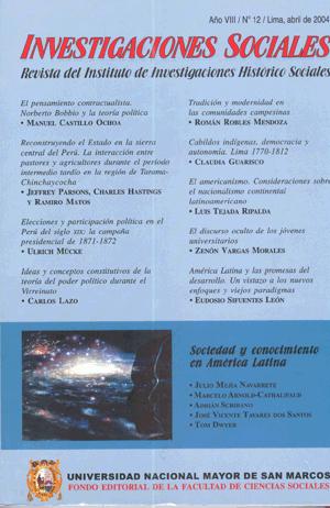 Ver Vol. 8 Núm. 12 (2004)