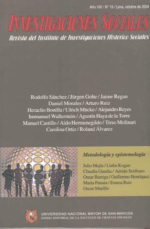Ver Vol. 8 Núm. 13 (2004)