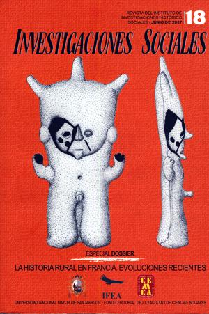 Ver Vol. 11 Núm. 18 (2007)