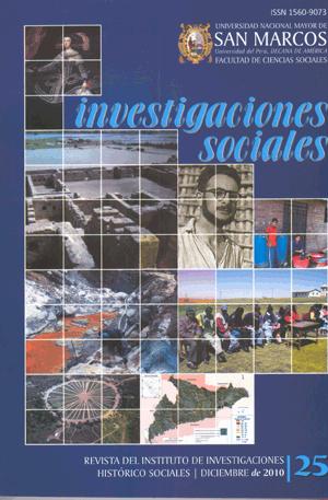 Ver Vol. 14 Núm. 25 (2010)