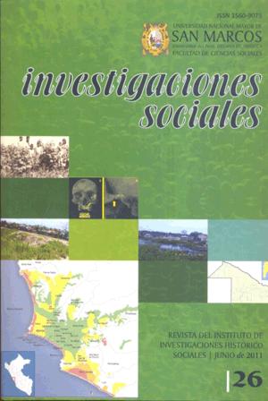 Ver Vol. 15 Núm. 26 (2011)