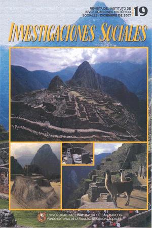 Ver Vol. 11 Núm. 19 (2007)