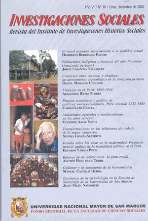 Ver Vol. 6 Núm. 10 (2002)