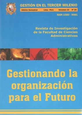 Ver Vol. 10 Núm. 19 (2007)