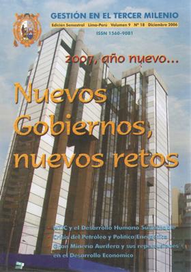 Ver Vol. 9 Núm. 18 (2006)