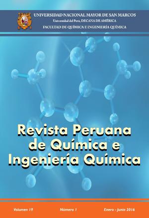 REVISTA PERUANA DE QUÍMICA E INGENIERÍA QUÍMICA