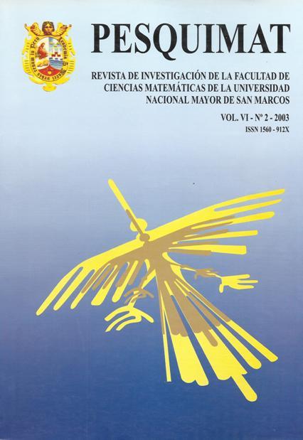 Ver Vol. 6 Núm. 2 (2003)