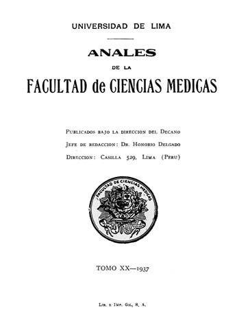 Ver Vol. 20 Núm. 1 (1937)