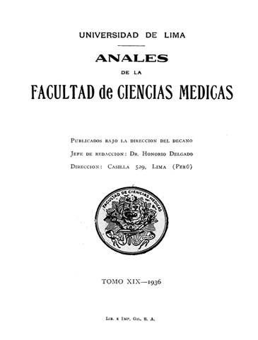 Ver Vol. 19 Núm. 1 (1936)