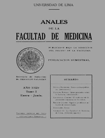 Ver Vol. 15 (1929): Tomo 1