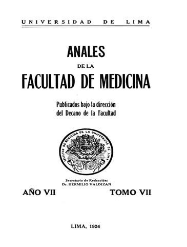 Ver Vol. 10 (1924)