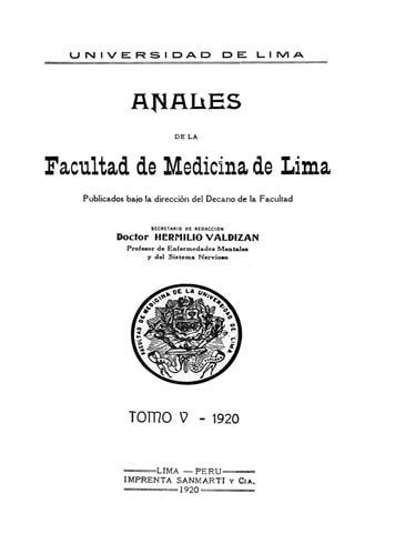 Ver Vol. 5 (1920)