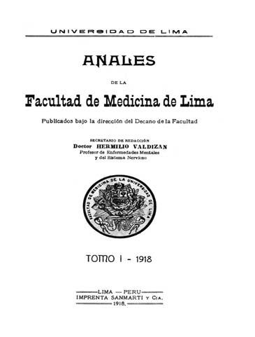 Ver Vol. 1 (1918)