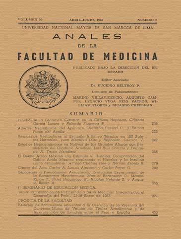 Ver Vol. 50 Núm. 2 (1967)
