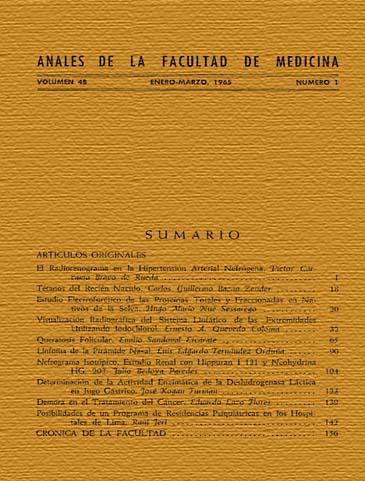 Ver Vol. 48 Núm. 1 (1965)