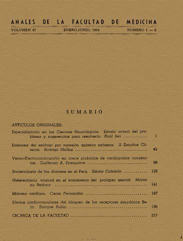 Ver Vol. 47 Núm. 1-2 (1964)