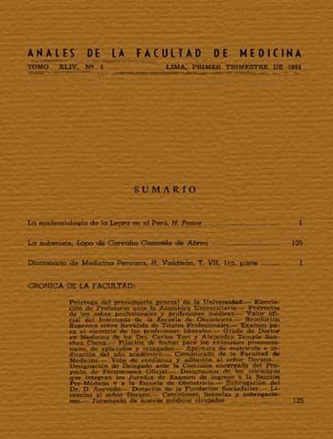 Ver Vol. 44 Núm. 1 (1961)