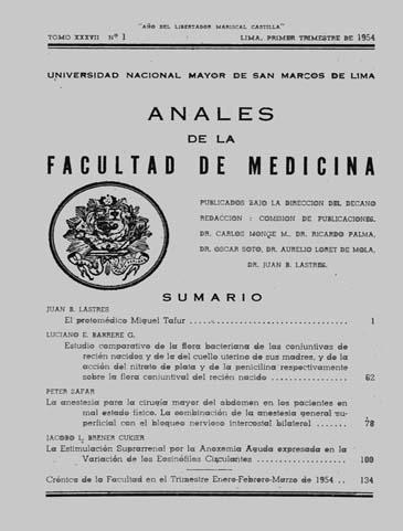 Ver Vol. 37 Núm. 1 (1954)