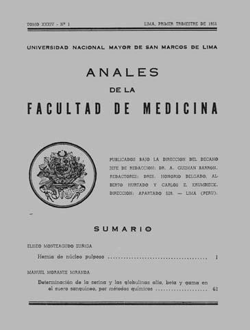 Ver Vol. 34 Núm. 1 (1951)