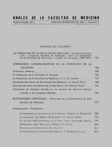 Ver Vol. 39 Núm. 3 (1956): Volumen 1