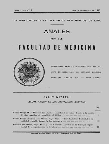 Ver Vol. 28 Núm. 1 (1945)