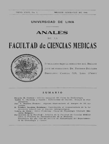 Ver Vol. 23 Núm. 1 (1940)