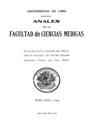 Ver Vol. 22 Núm. 1 (1939)