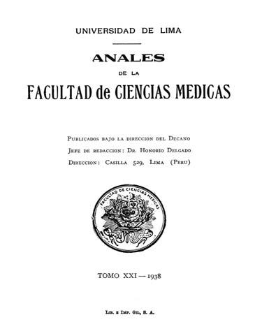 Ver Vol. 21 Núm. 1 (1938)