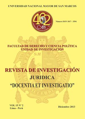 Ver Vol. 15 Núm. 2 (2013)