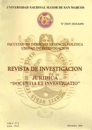 Ver Vol. 6 Núm. 2 (2004)