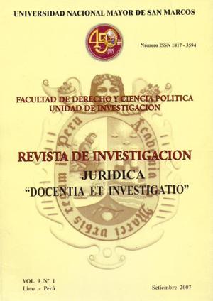 Ver Vol. 9 Núm. 1 (2007)