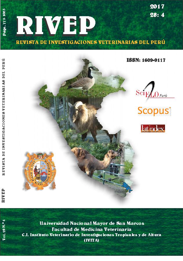 Archivos Revista De Investigaciones Veterinarias Del Peru