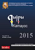 Ver Vol. 23 Núm. 43 (2015)
