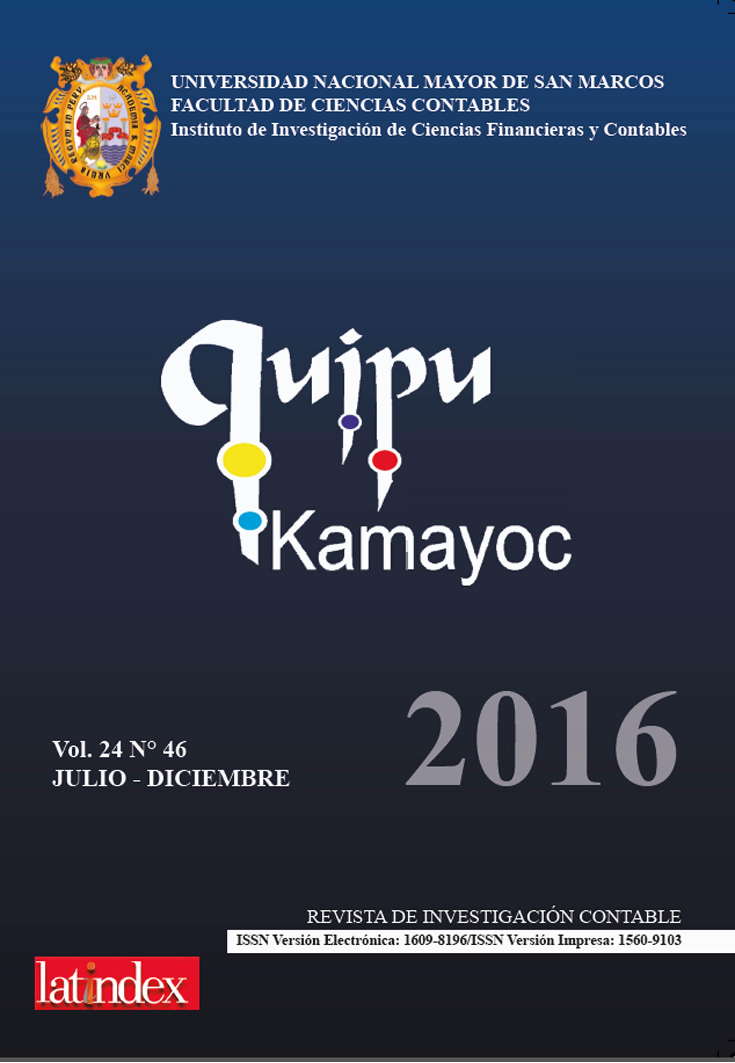 Ver Vol. 24 Núm. 46 (2016)