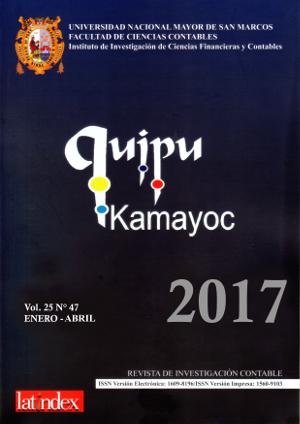 Ver Vol. 25 Núm. 47 (2017)