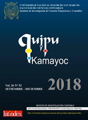 Ver Vol. 26 Núm. 52 (2018)
