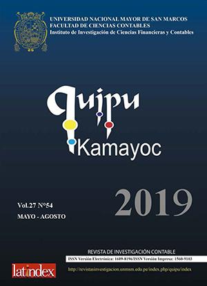 Ver Vol. 27 Núm. 54 (2019)