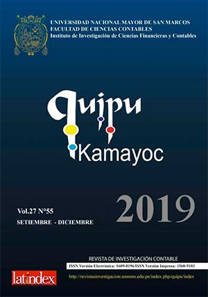Ver Vol. 27 Núm. 55 (2019)